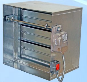 Motorized Fire Smoke Damper Amfsd Airmaster