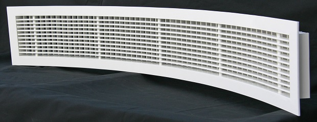 Airmaster Emirates Curved Linear Bar Grilles Linear
