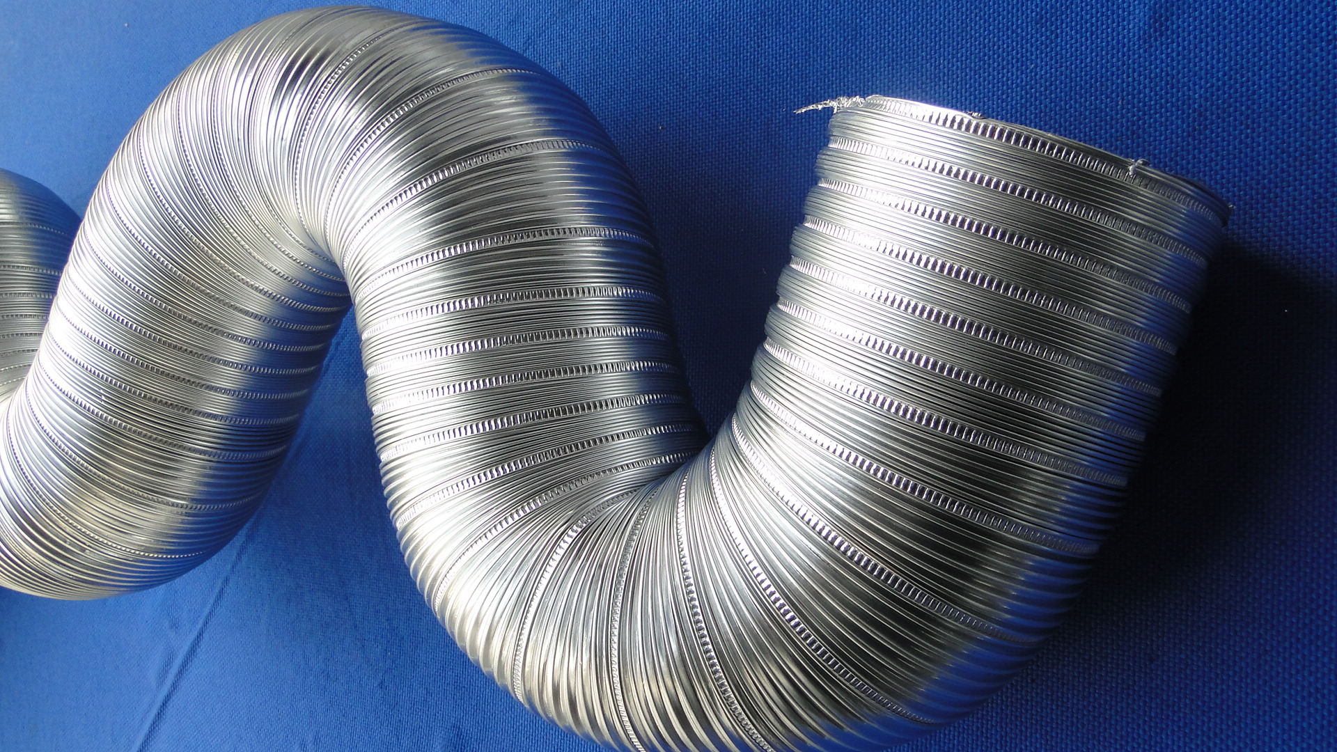Semi rigid aluminium duct ducting accessories