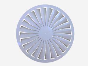 Fixed Swirl diffuser