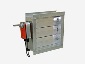 Motorized Volume Control Damper