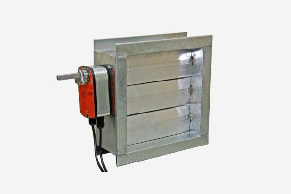 Motorized Volume Control Damper