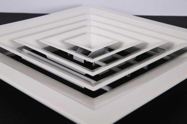 Square-ceiling-diffuser