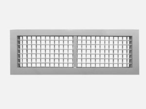 Double deflection grille front horizontal ASG-H