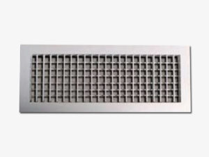 Double deflection grille front vertical-ASG-V