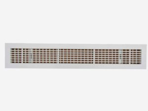 Double deflection linear bar grille ASLG