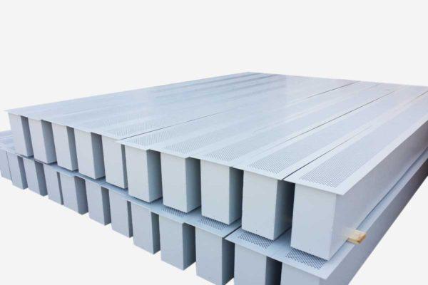 Maximum security perforated grille