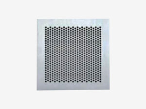 Maximum security perforated grille AMPSG