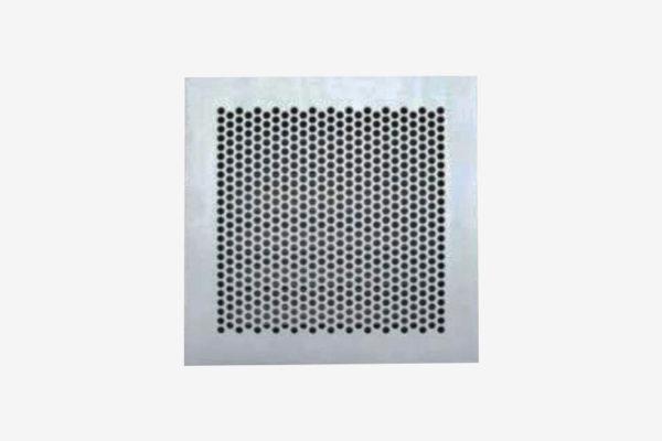Maximum security perforated grille AMPSG