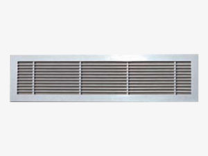 Single deflection linear bar grille ARLG