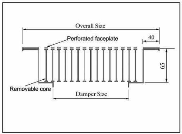 Linear Floor Displacement Diffuser - AFDD