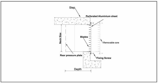 Step Displacement Diffuser - ASDD