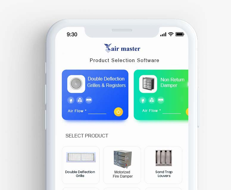 airmaster-product-selection