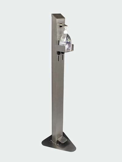 Stainless Steel Sanitizer Dispenser Stand