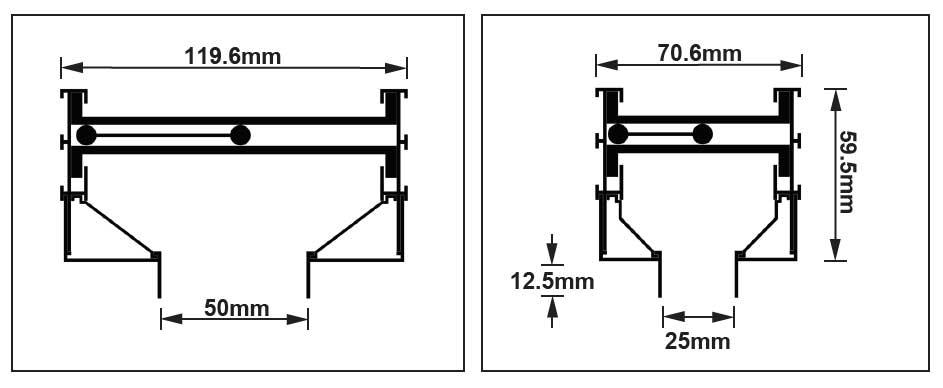 Flow Bar Diffuser type